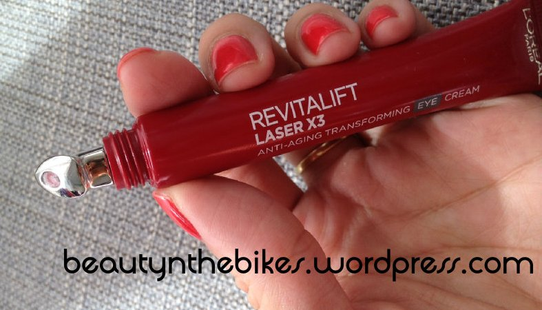 Review LOreal Revitalift Laser X3 Serum And Eye Cream