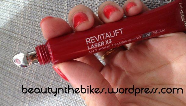 loreal revitalift laser x3 eye cream