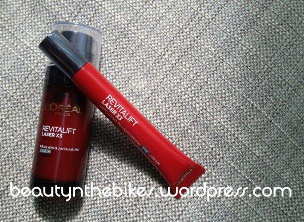loreal revitalift serum eye cream