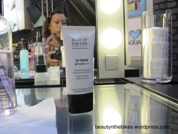 The UV Prime SPF 50 is essential in the brightening range, it's moisturising and lightweight, with a fantastic level of protection against UV. I personally like to use this during the day.