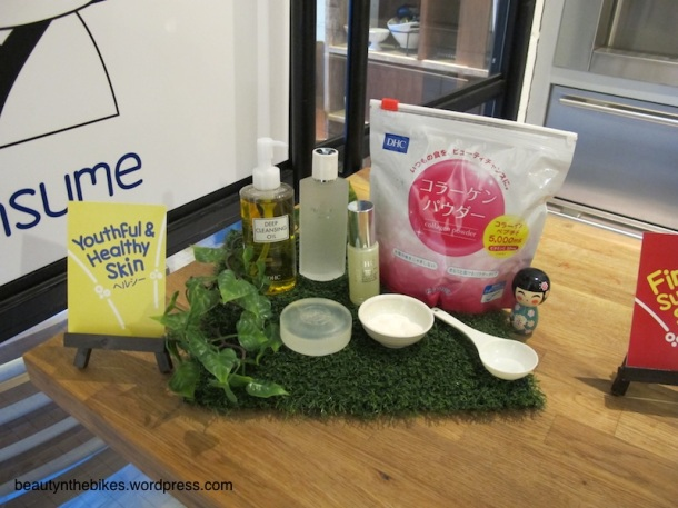The Collagen Powder was featured in the event as we learnt how to include it in our food preparation