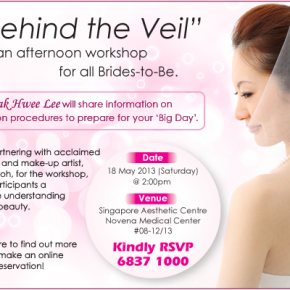 Behind The Veil – A Workshop For All Brides-to-be