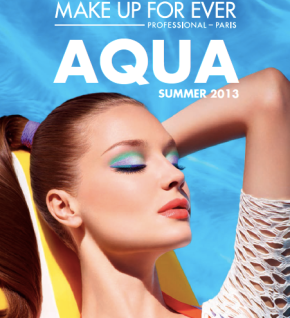 """MAKE UP FOR EVER """"AQUA"""" Summer Collection 2013: Swatches &Reviews"""