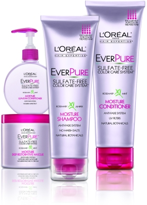 L'Oréal Paris Hair Expertise: EverPure Moisture Shampoo and Conditioner Review