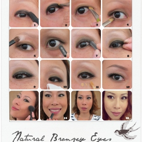 First Makeup Picture Tutorial – Natural BronzeyEyes