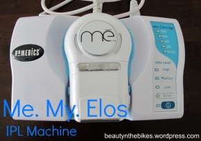 Me My Elos Permanent Hair Reduction IPL machine – Review & How-to