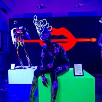 Fluo Dreams by Make Up For Ever: Wildest Bodypaintings Come Alive!