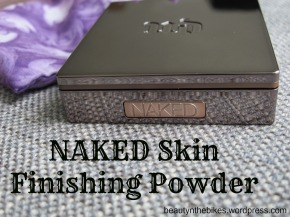 Urban Decay Naked Skin Finishing Powder: Review +Pictures
