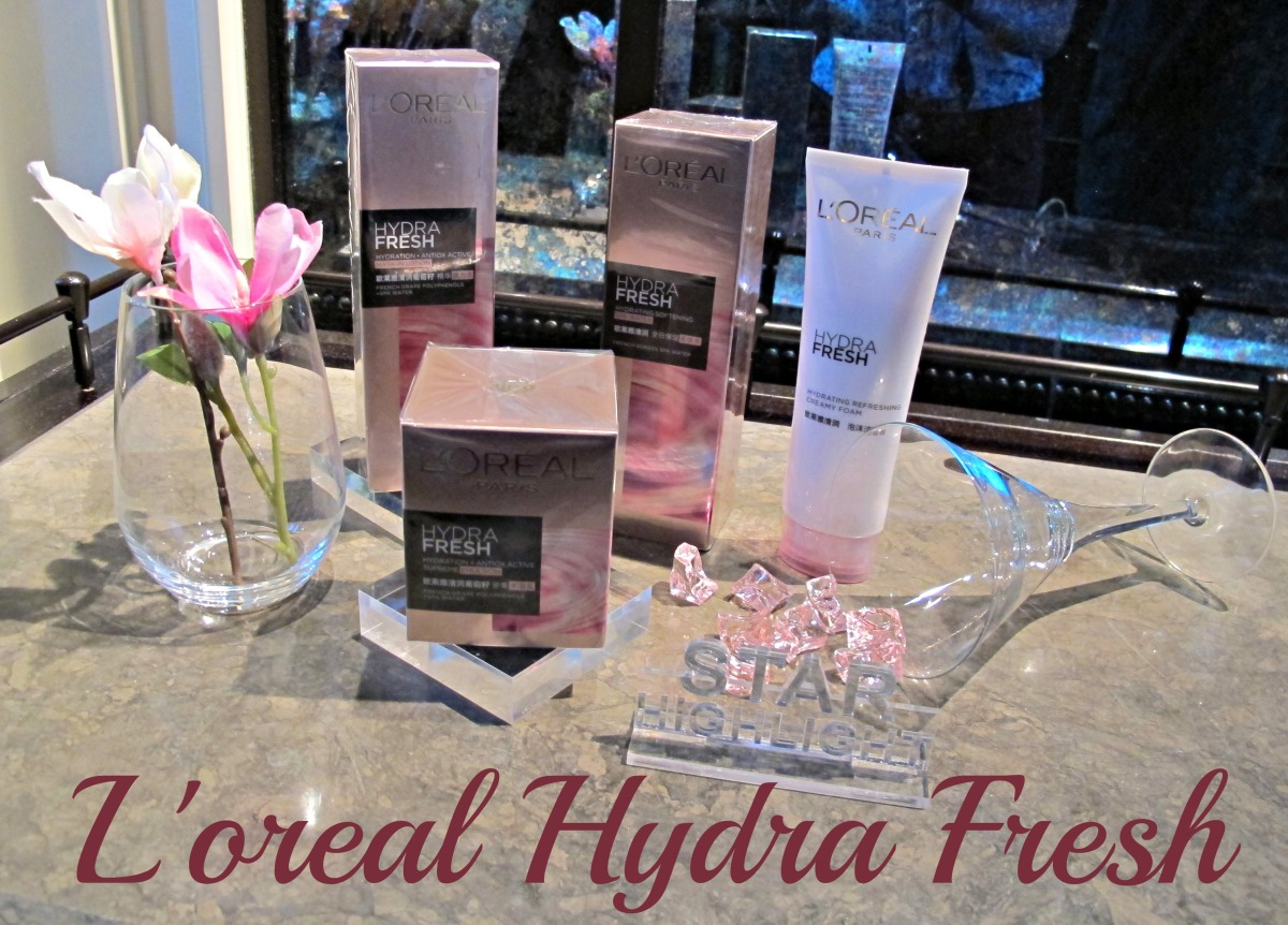 Sneak peek: L'oreal's New Hydra Fresh Range Review & Pictures