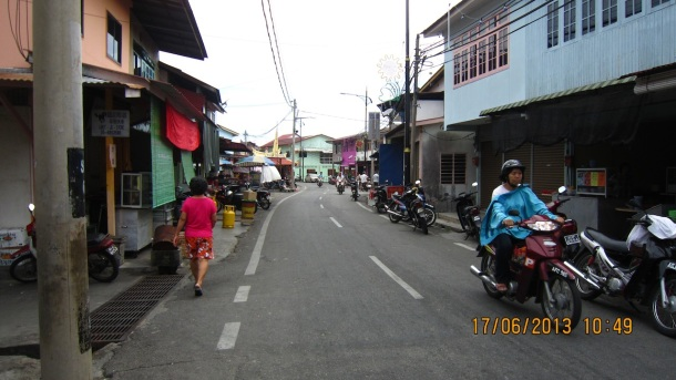 The group discovered small towns like this throughout their journey