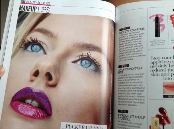 makeup by Joanna Koh elle beauty book 2