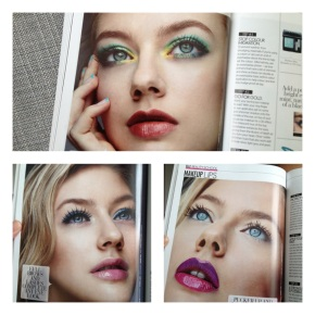 My Work's in Elle Beauty Book2013!