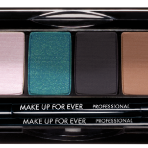 Make Up For Ever 2013 Fall/Winter Collection: Blue Sepia Eyeshadow Palette Swatches