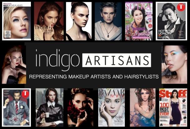 indigo artisans collage