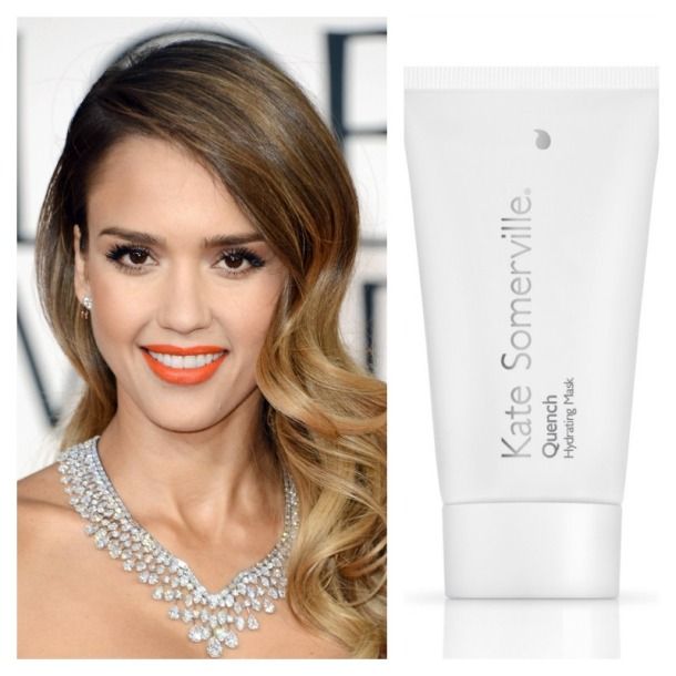 Jessica Alba has declared that she's a fan of Quench!