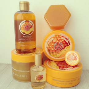 Giveaway! The Body Shop's NEW Honeymania Body Butter & Bubble Bath Melt