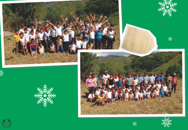 Bought a Loofah from The Body Shop? It came from Community Fair Trade loofah suppliers in Poligono, Honduras. Now they are helping to build a new school there