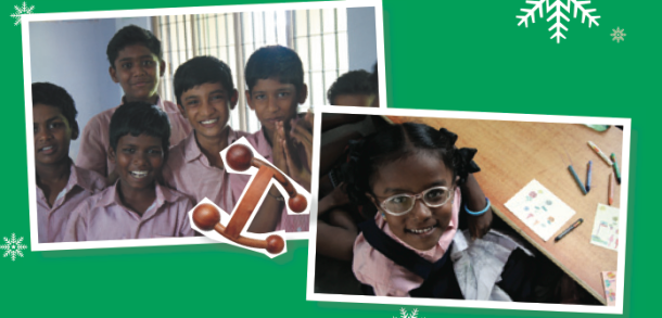 The Teddy Trust School was built in Tamil Nadu in 1994. This year, The Body Shop is helping Teddy Exports (a Community Fair Trade partner of The Body Shop) to build a special needs school