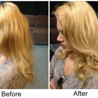 "Revisiting Cloud Nine ""The O"" Heated Velcro Rollers. Photo Demo, before and after"