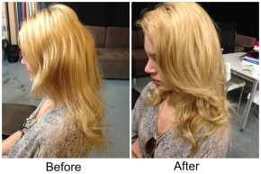 """Revisiting Cloud Nine """"The O"""" Heated Velcro Rollers. Photo Demo, before andafter"""