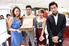 [Event] Meeting George Young & Desmond Tan at the new SK-II counter in Robinson Orchard