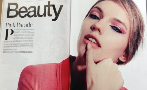 How I Created The Sharp Pink Eyeshadow Look For Style Magazine