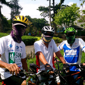 "Three ""Musketeers"" Take On Cycling 2000km To Raise Funds For Typhoon Haiyan Victims"