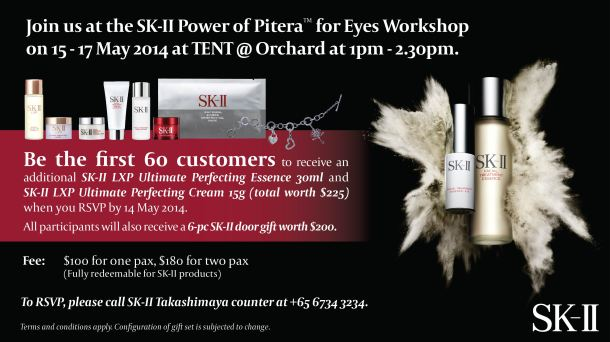 Power of Pitera™ for Eyes workshop