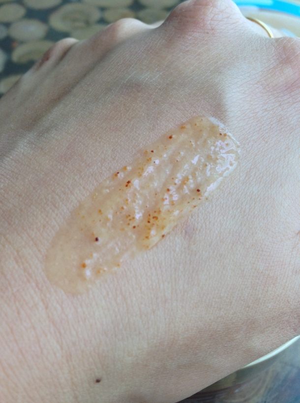 The Body Shop Wild Argan Oil Scrub