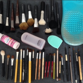 Taking Care of My Makeup Brushes